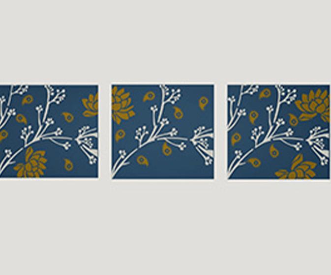 floral fusionasian paints
